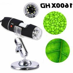 1600x Camera 8LED  Endoscope USB Digital Microscope Magnific