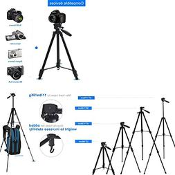 170cm 67 inch Portable Camera Tripod Stand Holder Adjustable