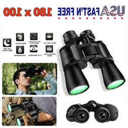 180 x 100 Zoom Day Night Vision Outdoor Travel Binoculars Hu