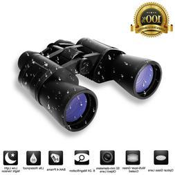 180x100 Zoom Day Night Powerful Binoculars Optics Hunting Ca