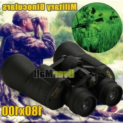 180x100 Zoom Day Night Vision Outdoor Travel HD Binocular Hu