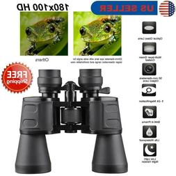 180x100 zoom hd lens binoculars day night