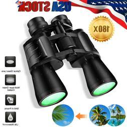 10x 180x100 Zoom Day/Night Outdoor Travel Binoculars Hunting