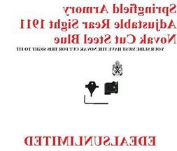 SPRINGFIELD ARMORY 1911 ADJUSTABLE REAR SIGHT fits COLT SIG