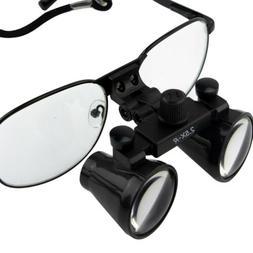 2.5X Dental Loupes Surgical Medical Binocular Optical Magnif