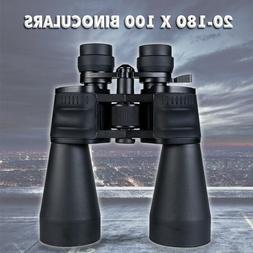 20-180 X 100 Binoculars High Magnification HD Long Range Zoo