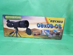 Gskyer 20-60x60 Spotting Scope Bird Watching Target Shooting
