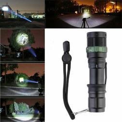 2019 XM-L T6 Zoomable 5000 Lumen Tactical LED Flashlight Tor