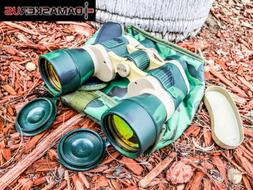 20X50 Day + Night PRISM Ruby Coated Lense Camo Green MILITAR