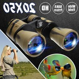 20X50 Zoom Day/Night Vision Outdoor HD Binoculars Hunting Hi