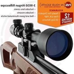 3-9X50 Air gun rifle scope +11mm Dovetail Mounts, Air rifle