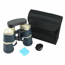 Perrini 30X50 Dark Blue & Tan Auto Focus High Definition Bin