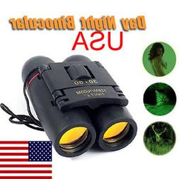 30x60 Mini Portable Night Vision Binoculars Telescope Telesc