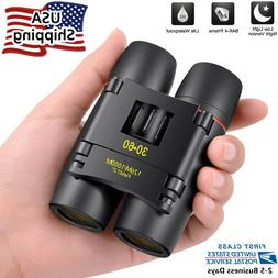 30x60 Small Compact Binoculars for Bird Watching Outdoor Hun