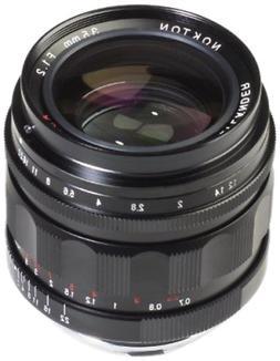 Voigtlander 35mm f/1.2 Black Nokton II ASPH Leica M Lens