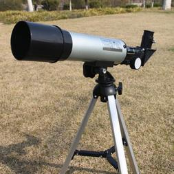 360/50mm Refractive Astronomical Telescope Tripod Monocula S