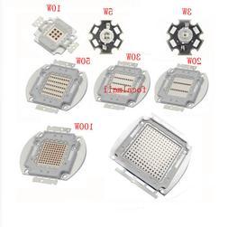 3W 5W 10W to 100W Infrared IR 740nm/850nm/940nm High Power L