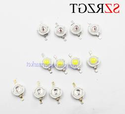 3W High Power LED Chip Light Beads White Red Blue Green IR l