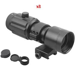 Vector Optics 3x, 4x, 5x Tactical Maginifier with Flip-to-si