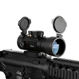 3X44 Green Red Dot Sight Scope Tactical Optics Rifle Scope F