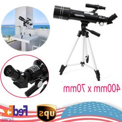 400mmx70mm Astronomical Monocular Telescope Moon Refractor T