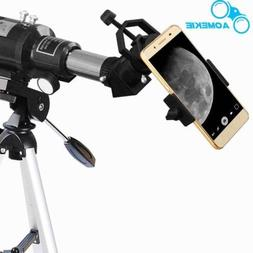 400X70 Refractor Astronomical Telescope Optical Lens W/ Trip