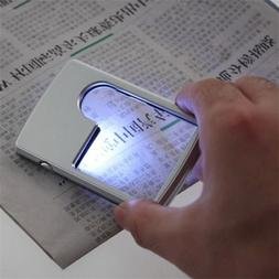 40x 25mm Power Jeweler Illuminated Loupe LED Loop Magnifier