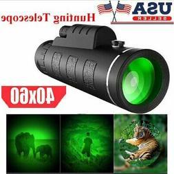 40X60 Zoom Binoculars with Night Vision BAK4 Prism High Powe