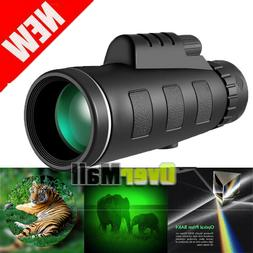 40X60 Zoom Binoculars Night Vision BAK4 Prism High Power Wat