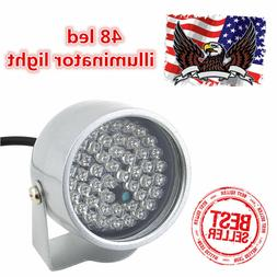 48 LED Illuminator IR Infrared Night Vision Light Security L
