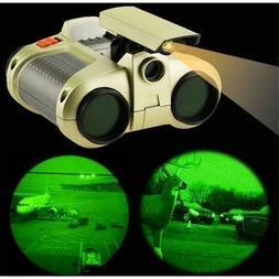 Night Scope 4x power binoculars, See in the dark w/night-bea