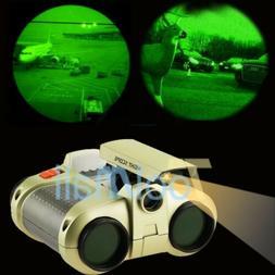 4x30mm Night Vision Telescope Dual Scope Surveillance Binocu