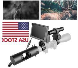 "Night Vision Camera Hunting scope 5"" screen 850nm Infrared L"