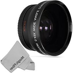 Vivitar 52MM 0.43x Wide Angle Lens Compatible with Nikon