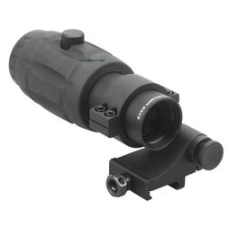 Vector Optics 5X Magnifier Scope for Red Dot Sights with Fli