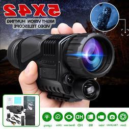 5X Zoom Infrared Dark Night Vision Monocular Binoculars Tele