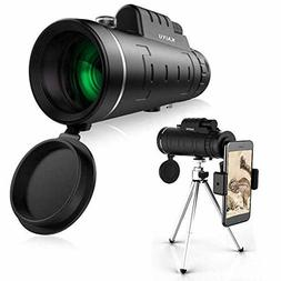 5ZOOM- High Power Prism Monocular Telescope -Hiking, Hunting