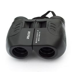 6-13x22 compact zoom binoculars. 6x to 13x adjustable magnif
