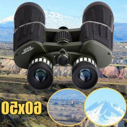 60x50 Day/Night Military Army Zoom Optics Hunting Camping Po