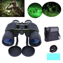 60x50 Day/Night Military Zoom Binoculars Telescopes Optics H