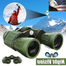 60x50 Zoom HD Military Army Powerful Binoculars Optics Hunti