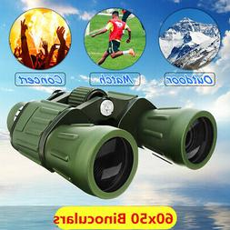 60x50 Zoom Military Army High Power HD Binoculars Anti UV Hu