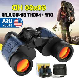 60X60 Zoom Binoculars Day/Night Vision Travel Outdoor HD Hun