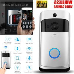 Two-Way Smart Wireless WiFi Doorbell Video HD Talk PIR Door