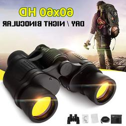 60X60 Zoom Day/Night Vision Outdoor HD Binoculars Hunting Te