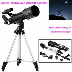 66X Refractor Monocular Astronomical Telescope with Tripod E