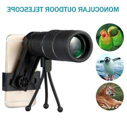 6X50 Zoom Optical HD Monocular Telescope Camera Lens + Tripo