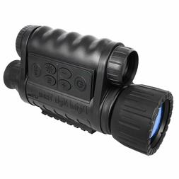 6x50mm HD Digital Night Vision Monocular with 1.5 inch TFT L