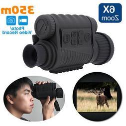 6X50mm Infrared Night Vision Scope Monocular IR DVR Record B