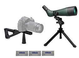 Konus 7120B KonuSpot-80 20-60x80 Zoom Spotting Scope Bundle